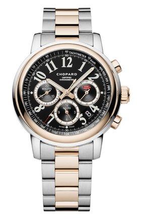 Мужские часы mille miglia chronograph CHOPARD черного цвета, арт. 158511-6002 | Фото 1