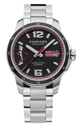 Мужские часы mille miglia gts power control CHOPARD черного цвета, арт. 158566-3001 | Фото 1