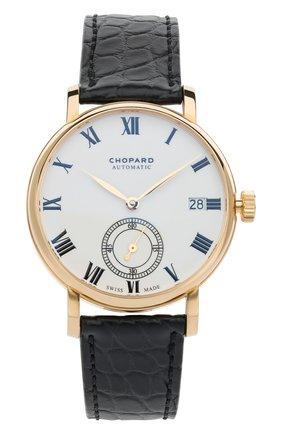 Мужские часы classic manufacture CHOPARD белого цвета, арт. 161289-0001 | Фото 1