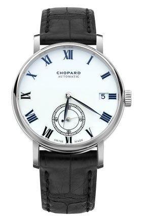 Мужские часы classic manufacture CHOPARD бесцветного цвета, арт. 161289-1001 | Фото 1