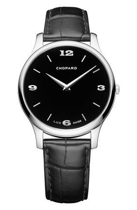 Мужские часы xp CHOPARD черного цвета, арт. 161902-1001 | Фото 1