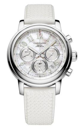 Женские часы mille miglia chronograph CHOPARD перламутрового цвета, арт. 168511-3018 | Фото 1