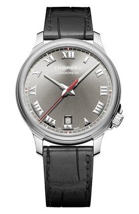 Мужские часы 1937 CHOPARD серого цвета, арт. 168527-3001   Фото 1