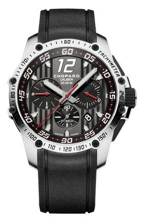 Мужские часы superfast chrono CHOPARD черного цвета, арт. 168535-3001 | Фото 1