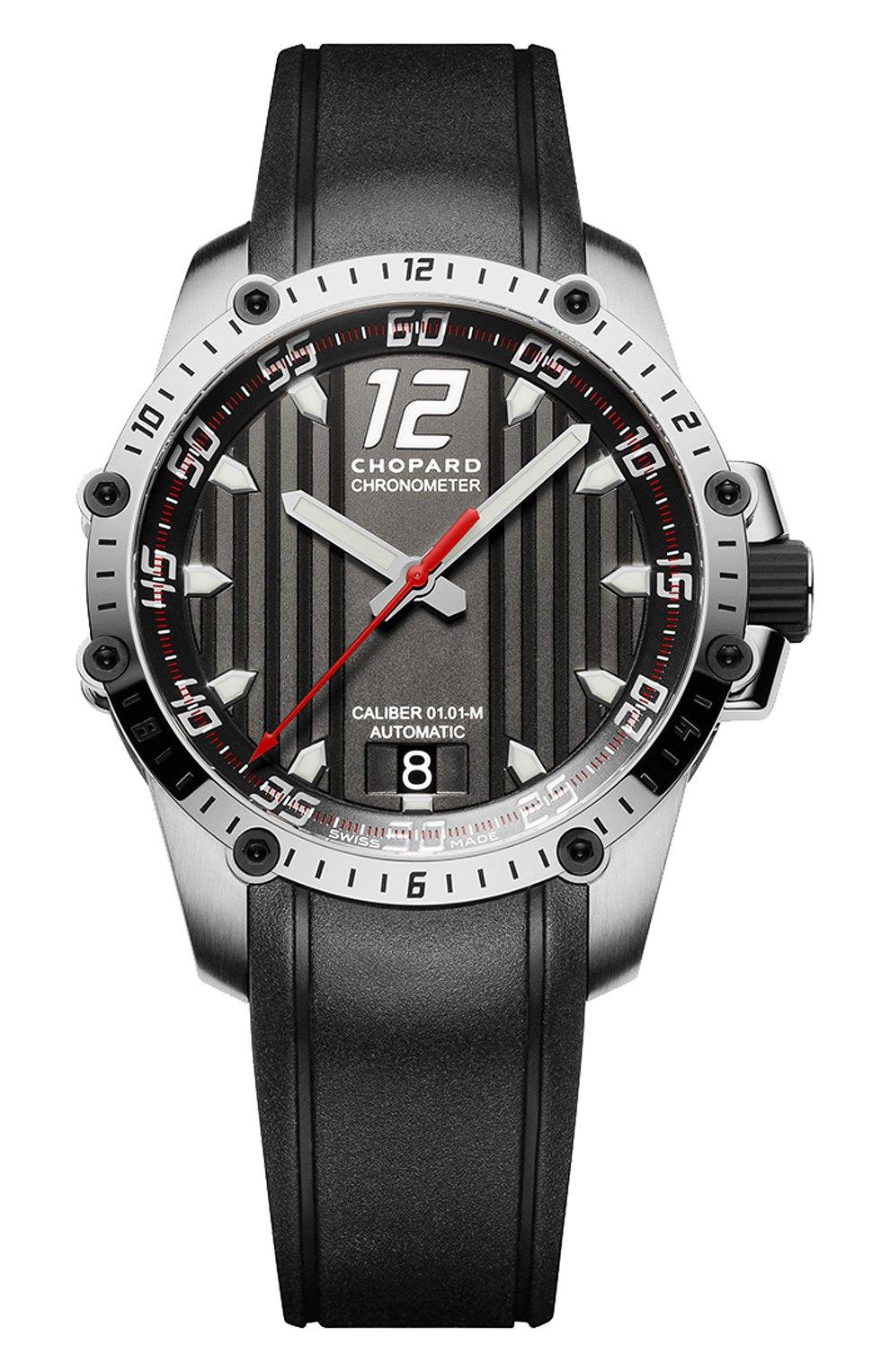 Мужские часы superfast automatic CHOPARD черного цвета, арт. 168536-3001   Фото 1