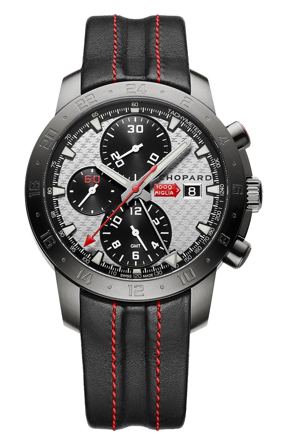 Мужские часы mille miglia zagato CHOPARD серебряного цвета, арт. 168550-3004   Фото 1