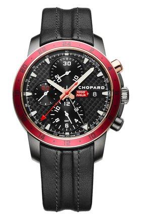 Мужские часы mille miglia zagato CHOPARD черного цвета, арт. 168550-6001 | Фото 1
