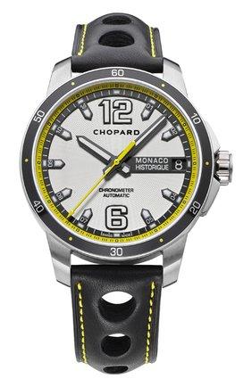 Мужские часы grand prix de monaco historique automatic CHOPARD серебряного цвета, арт. 168568-3001 | Фото 1