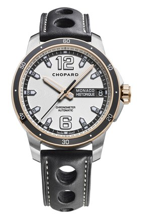 Мужские часы grand prix de monaco historique automatic CHOPARD серебряного цвета, арт. 168568-9001   Фото 1