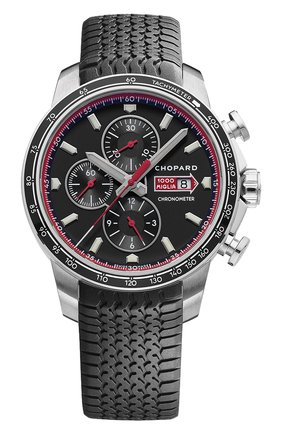 Мужские часы mille miglia gts chrono black CHOPARD черного цвета, арт. 168571-3001   Фото 1