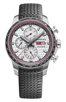 Мужские часы mille miglia 2017 race edition CHOPARD серебряного цвета, арт. 168571-3002 | Фото 1