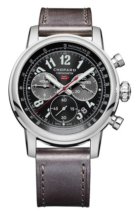 Мужские часы mille miglia chronograph CHOPARD черного цвета, арт. 168580-3001 | Фото 1