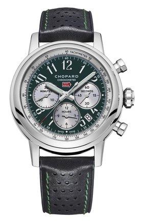 Мужские часы mille miglia chrono racing CHOPARD черного цвета, арт. 168589-3009 | Фото 1