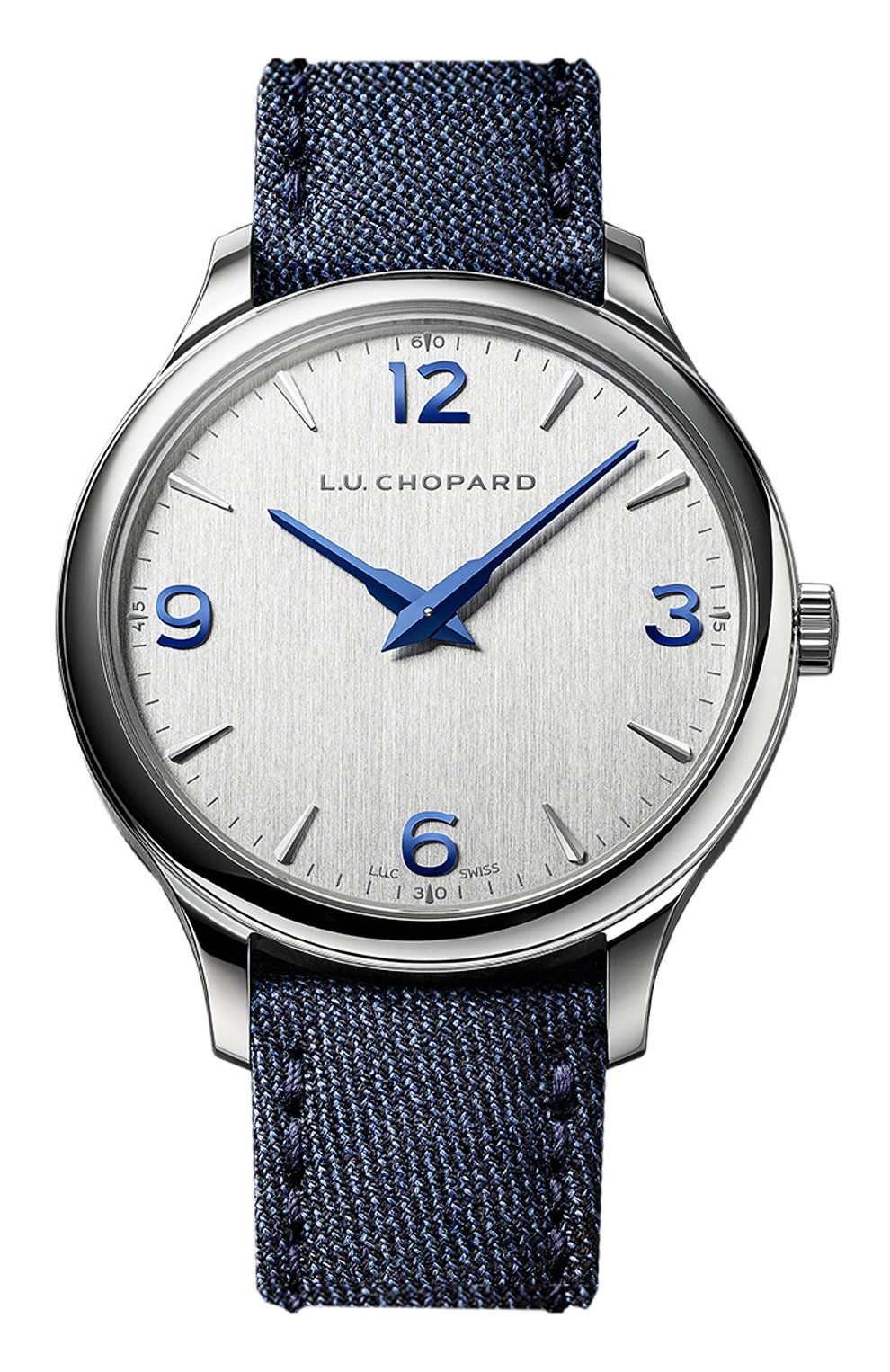 Мужские часы xp ultra-slim CHOPARD серебряного цвета, арт. 168592-3001   Фото 1