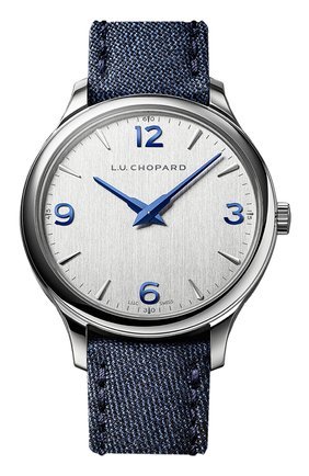 Мужские часы xp ultra-slim CHOPARD серебряного цвета, арт. 168592-3001 | Фото 1