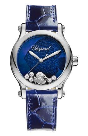 Женские часы happy fish CHOPARD бесцветного цвета, арт. 278578-3002   Фото 1
