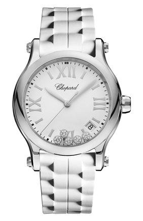 Женские часы happy sport CHOPARD белого цвета, арт. 278582-3001   Фото 1