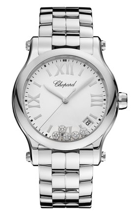 Женские часы happy sport CHOPARD белого цвета, арт. 278582-3002   Фото 1