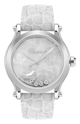 Женские часы tatiana navka CHOPARD белого цвета, арт. 278598-3003   Фото 1