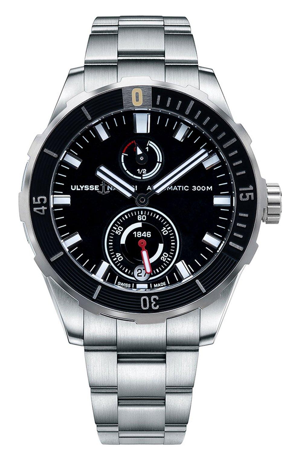 Мужские часы ULYSSE NARDIN черного цвета, арт. 1183-170-7M/92 | Фото 1