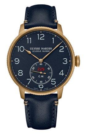 Мужские часы torpilleur ULYSSE NARDIN синего цвета, арт. 1187-320LE/63 | Фото 1