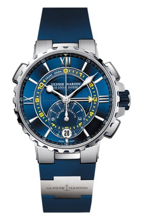 Мужские часы regatta ULYSSE NARDIN синего цвета, арт. 1553-155-3/43 | Фото 1