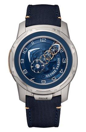 Мужские часы freak out ULYSSE NARDIN синего цвета, арт. 2053-132/03 | Фото 1
