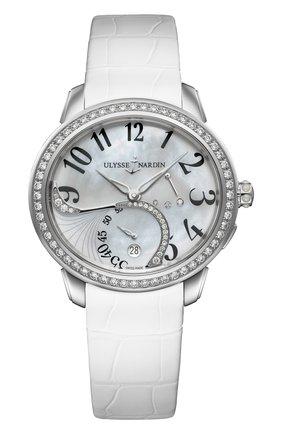 Женские часы jade ULYSSE NARDIN перламутрового цвета, арт. 3103-125B/591 | Фото 1