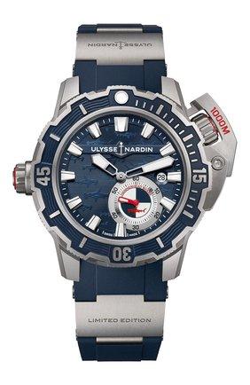 Мужские часы deep dive ULYSSE NARDIN синего цвета, арт. 3203-500LE-3/93-HAMMER | Фото 1