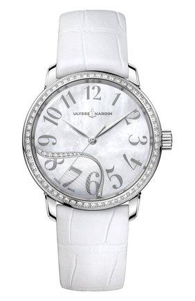 Женские часы classico jade ULYSSE NARDIN перламутрового цвета, арт. 8153-201B/60-01 | Фото 1