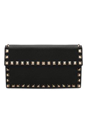 Женская сумка valentino garavani rockstud VALENTINO черного цвета, арт. TW2P0T37/VSH | Фото 1