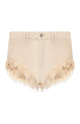 Женские джинсовые шорты ISABEL MARANT кремвого цвета, арт. SH0331-20E010I/ENEIDA | Фото 1