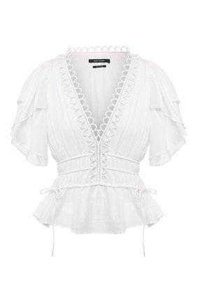 Женская хлопковая блузка ISABEL MARANT белого цвета, арт. HT1739-20E021I/YEMILA | Фото 1