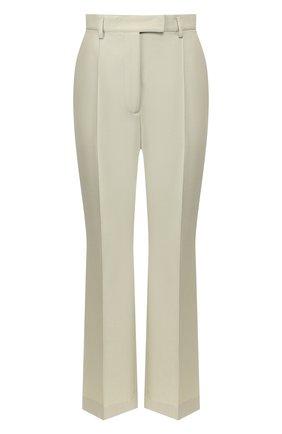 Женские брюки ACNE STUDIOS светло-зеленого цвета, арт. AK0221 | Фото 1