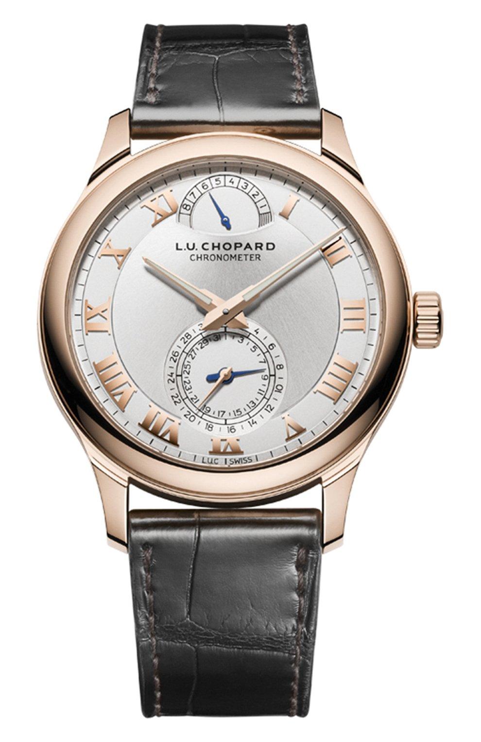 Мужские часы quattro CHOPARD серебряного цвета, арт. 161926-5001   Фото 1