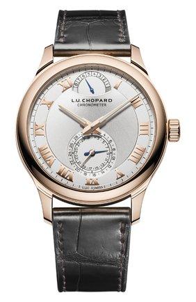 Мужские часы quattro CHOPARD серебряного цвета, арт. 161926-5001 | Фото 1