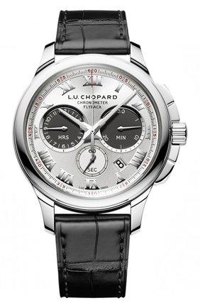Мужские часы chrono one CHOPARD серебряного цвета, арт. 161928-1001 | Фото 1