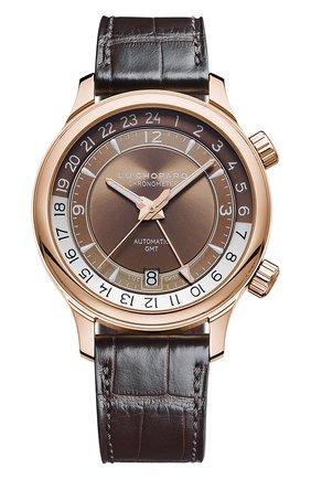 Мужские часы gmt one CHOPARD коричневого цвета, арт. 161943-5001 | Фото 1