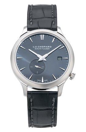 Мужские часы l.u.c xps twist qf CHOPARD темно-серого цвета, арт. 161945-1001 | Фото 1