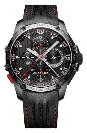 Мужские часы superfast split second CHOPARD черного цвета, арт. 168542-3001 | Фото 1