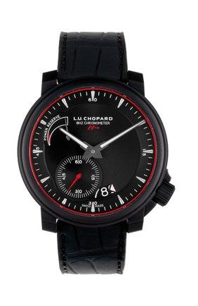 Мужские часы 8hf power control CHOPARD черного цвета, арт. 168575-9001 | Фото 1