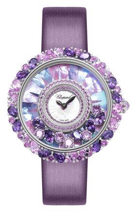 Женские часы happy diamonds joaillerie CHOPARD перламутрового цвета, арт. 204445-1008   Фото 1