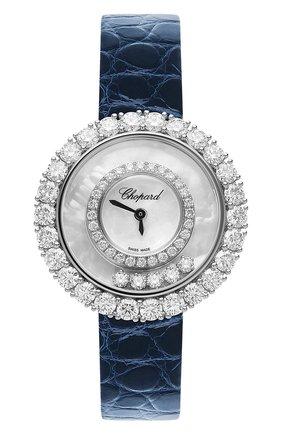 Женские часы icons round CHOPARD перламутрового цвета, арт. 205369-1001   Фото 1