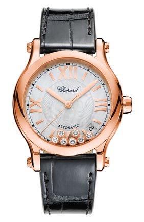 Женские часы happy sport automatic CHOPARD перламутрового цвета, арт. 274808-5008   Фото 1