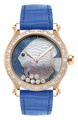 Женские часы happy fish CHOPARD бесцветного цвета, арт. 274891-5019 | Фото 1