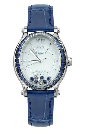 Женские часы happy sport CHOPARD перламутрового цвета, арт. 275362-1003   Фото 1