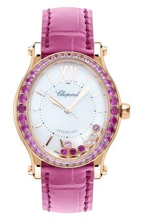 Женские часы CHOPARD перламутрового цвета, арт. 275362-5003   Фото 1