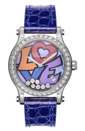 Женские часы happy love CHOPARD разноцветного цвета, арт. 278559-3021 | Фото 1