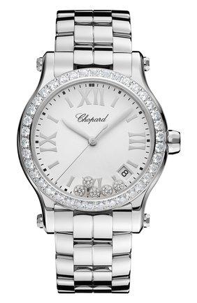 Женские часы happy sport CHOPARD белого цвета, арт. 278582-3004 | Фото 1