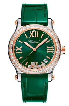 Женские часы CHOPARD зеленого цвета, арт. 278582-6007 | Фото 1